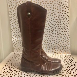 Brown tall Frye boots size 7.5